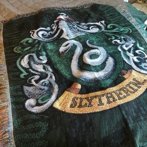 Blanket throw - Slytherin harry potter